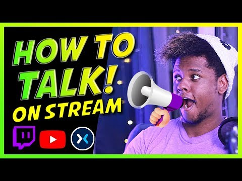 How to talk to yourself and chat / Get followers on Twitch