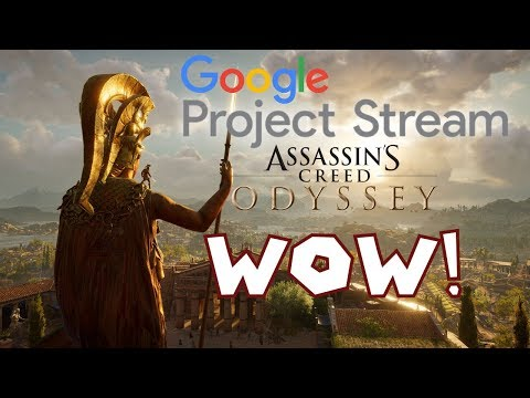 30 Minutes of Assassin's Creed: Odyssey Streamed With Project Stream. It's Great!