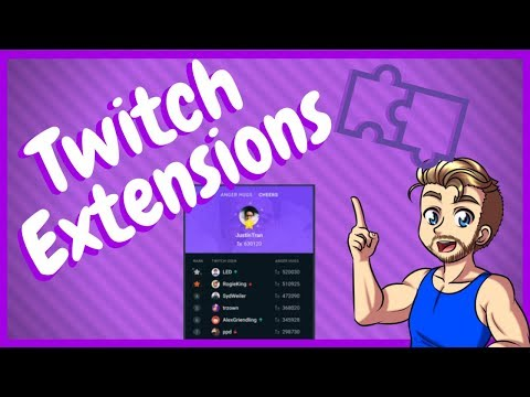 How To Use Twitch Extensions Correctly!