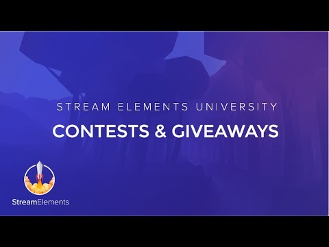 StreamElements Contests & Giveaways