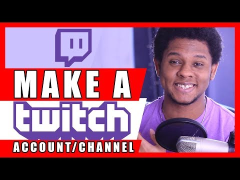 How To Make a Twitch Account / Channel Tutorial