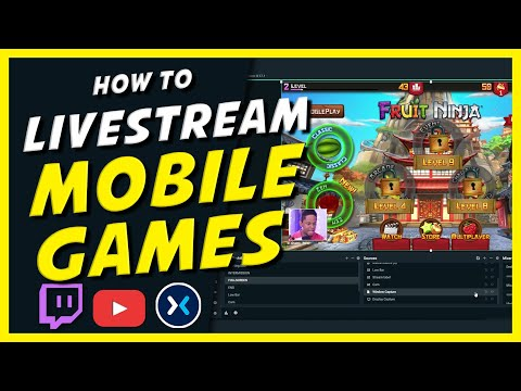 How To Live Stream MOBILE GAMES (Twitch Mixer YouTube)