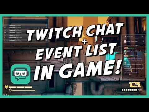 How to view TWITCH CHAT IN GAME - one monitor setup (Streamlabs Game Overlay)