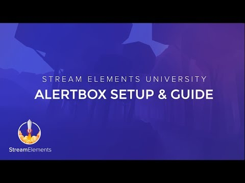 StreamElements AlertBox Guide