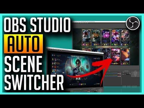 OBS Studio - Auto Scene Switcher