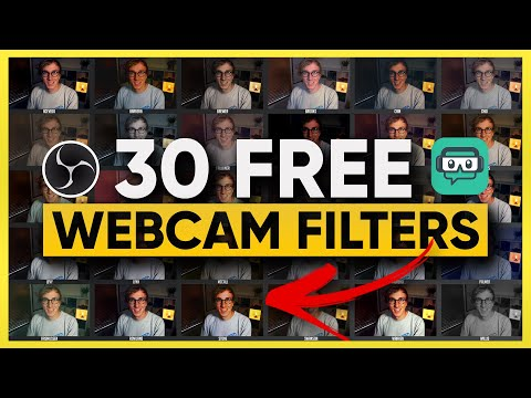 30 FREE Webcam Filters to Make Your Stream Stunning