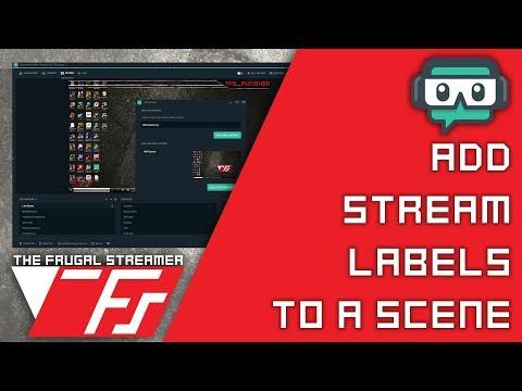 Streamlabs OBS Guide: Simple Way to Add Stream Labels to Your Scene