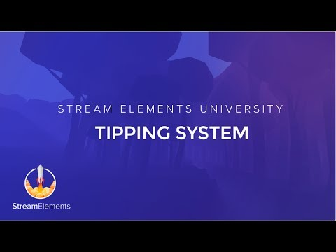 StreamElements Tipping page Setup