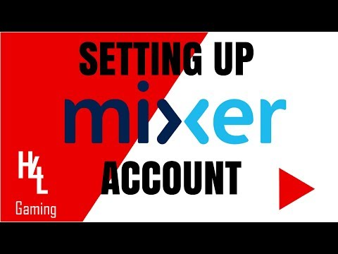 How to Set Up a Mixer Account