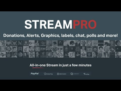 Overview of StreamPro - Custom Twitch overlays, alerts, donations, and more!