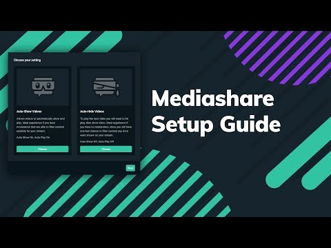 How to Set Up Streamlabs Mediasharing