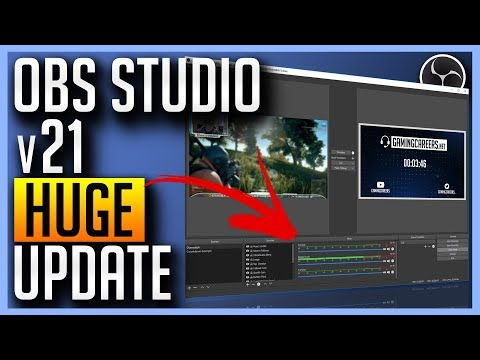 OBS v21 Update - Scripting, Audio Overhaul, Multiview + More!