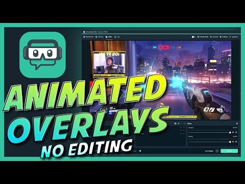 Step by Step Streamlabs OBS guide - EASY Animated overlays