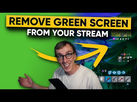 Green Screen Stream Setup in OBS Studio or Streamlabs OBS