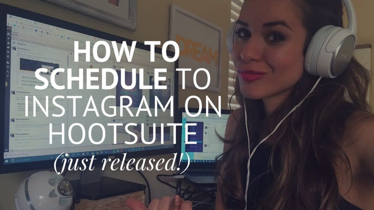 How To Schedule Posts On Instagram Via Hootsuite how to schedule posts on instagr
