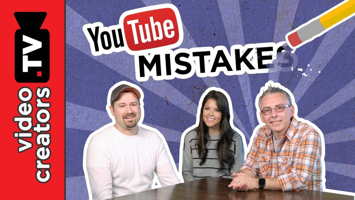 Top 8 Mistakes New YouTubers Make top 8 mistakes new youtubers mak