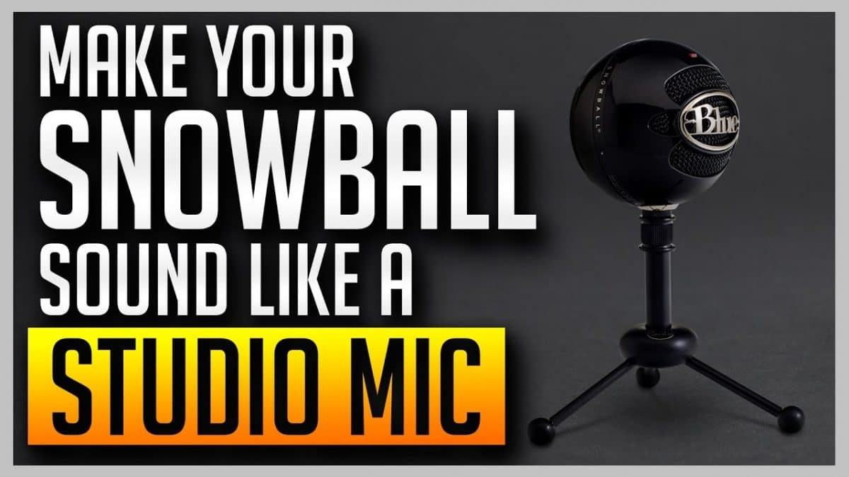 Make Your Blue Snowball Sound Like a Studio Mic 1