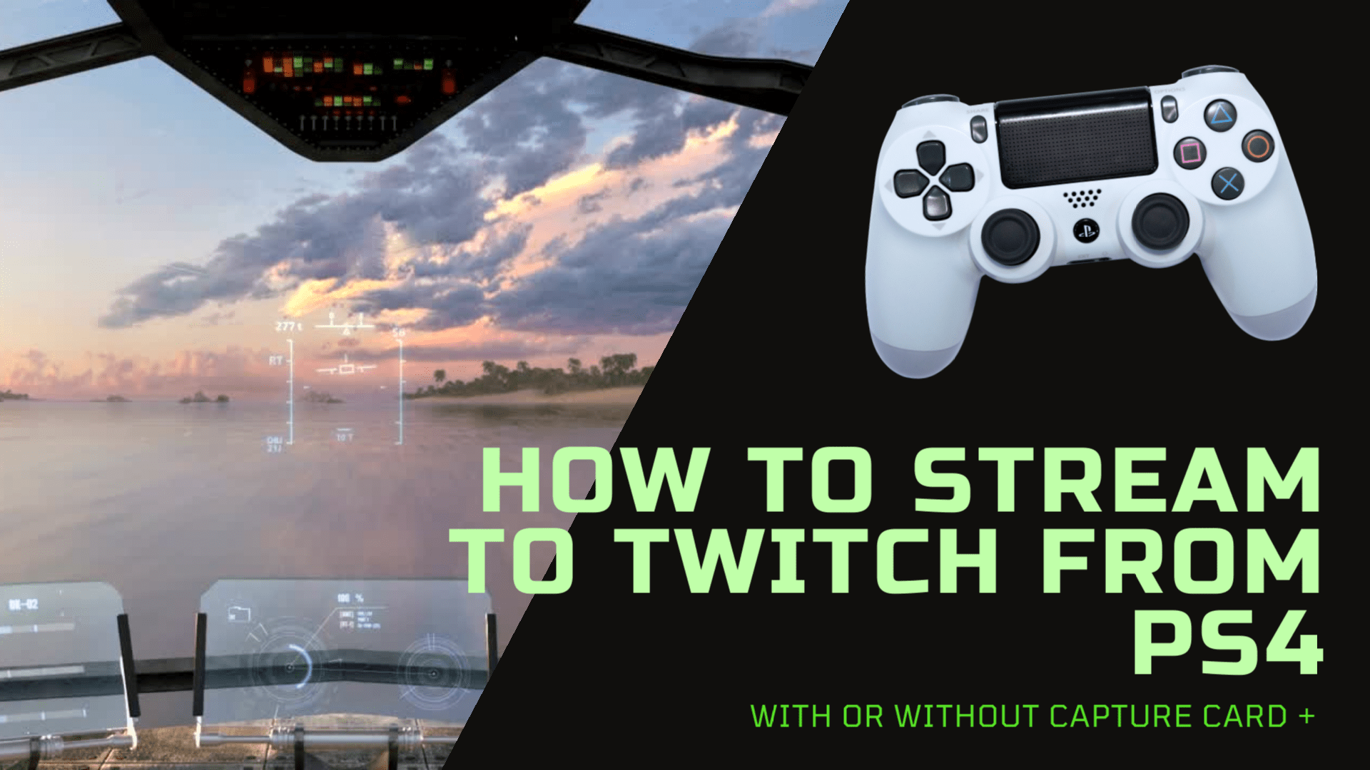 How to Stream to Twitch from PS4 in three different ways. With straight up ps4 to twitch, by using ps4 remote play which enables without a capture card streaming option and with the help of elgato streaming software.