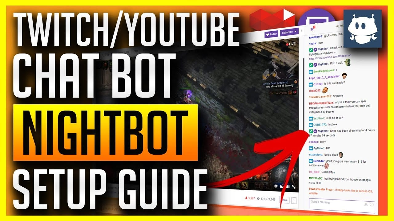 nightbot tutorial for twitch tv - Nightbot Tutorial For Twitch.tv - How To Get And Use Nightbot