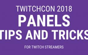 TwitchCon 2018 Panels