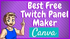 How to Make Twitch Panels Quick and Easy – With Canva