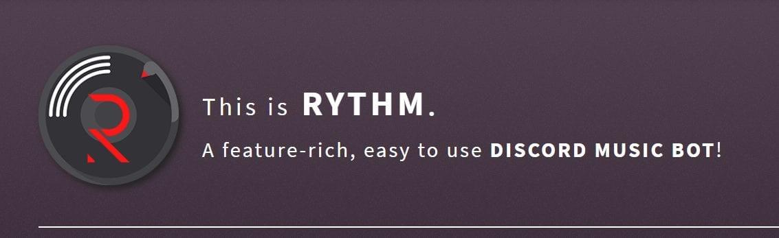 rhythm music bot for discord