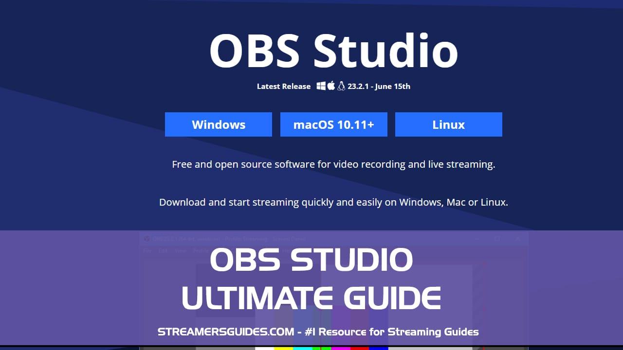 obs studio ultimate guide