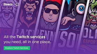 Twitch Offline Banner - Secrets for a Good One with FREE Template fivver 335