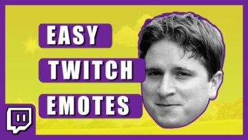 How to Make Twitch Emotes – Quick and easy