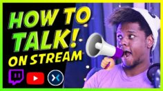 How to Talk to Yourself – Get your Viewers to talk more – Twitch, Mixer and YouTube