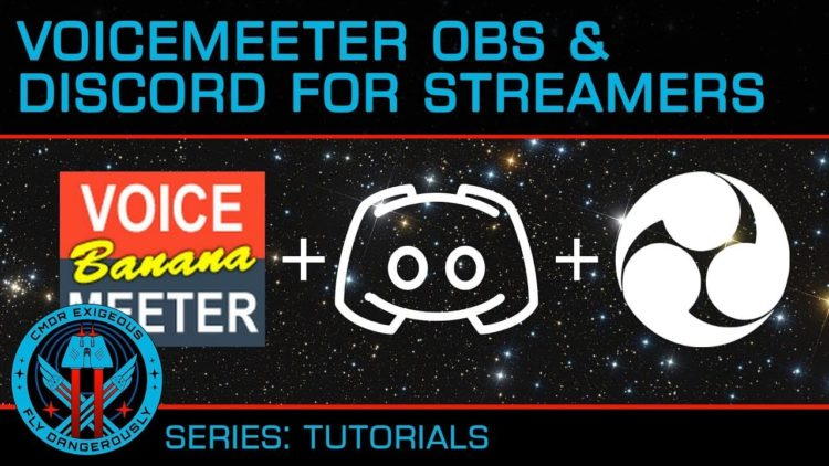 How to Setup – Separate Audio – OBS Studio, Discord and VoiceMeeter Banana