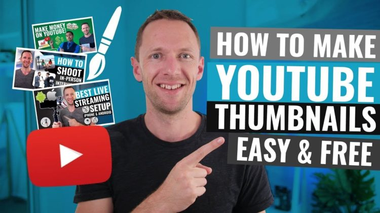 How to Make - Custom Thumbnail for Twitch and YouTube for Free!