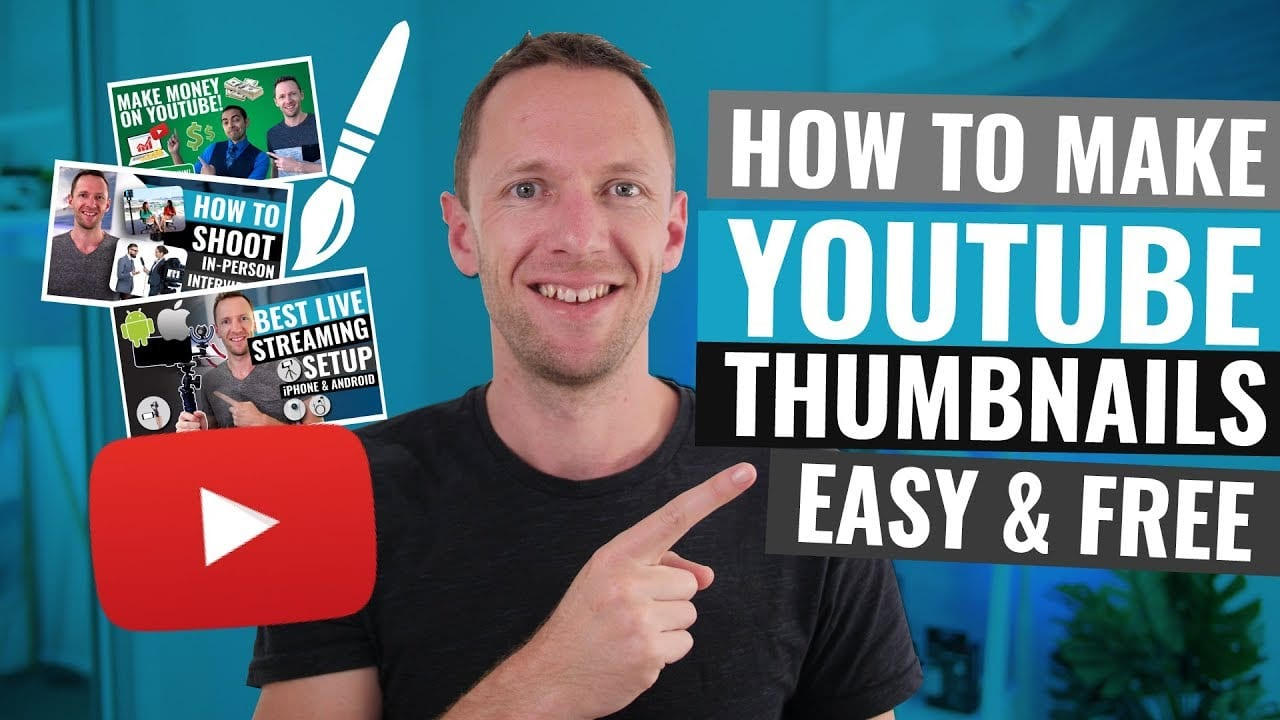 How to Make a Custom Thumbnail for Twitch and YouTube for Free!