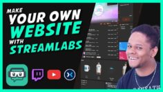 StreamLabs Creator Sites – How to Make Your Own Website