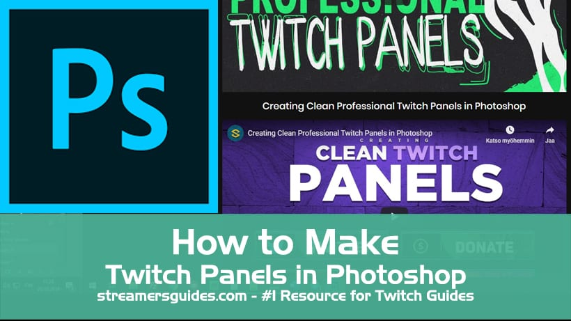 How to Make Twitch Panels in Photoshop How to Make Twitch Panels in Photoshop