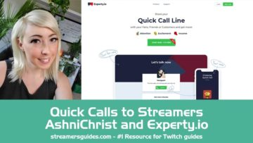 Quick-Calls-to-Streamers-with-AshniChrist-and-Experty.io