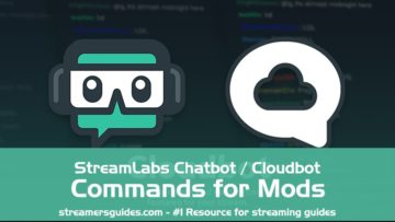 StreamLabs Chatbot / Cloudbot Commands for mods