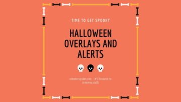 halloween overlays and alerts