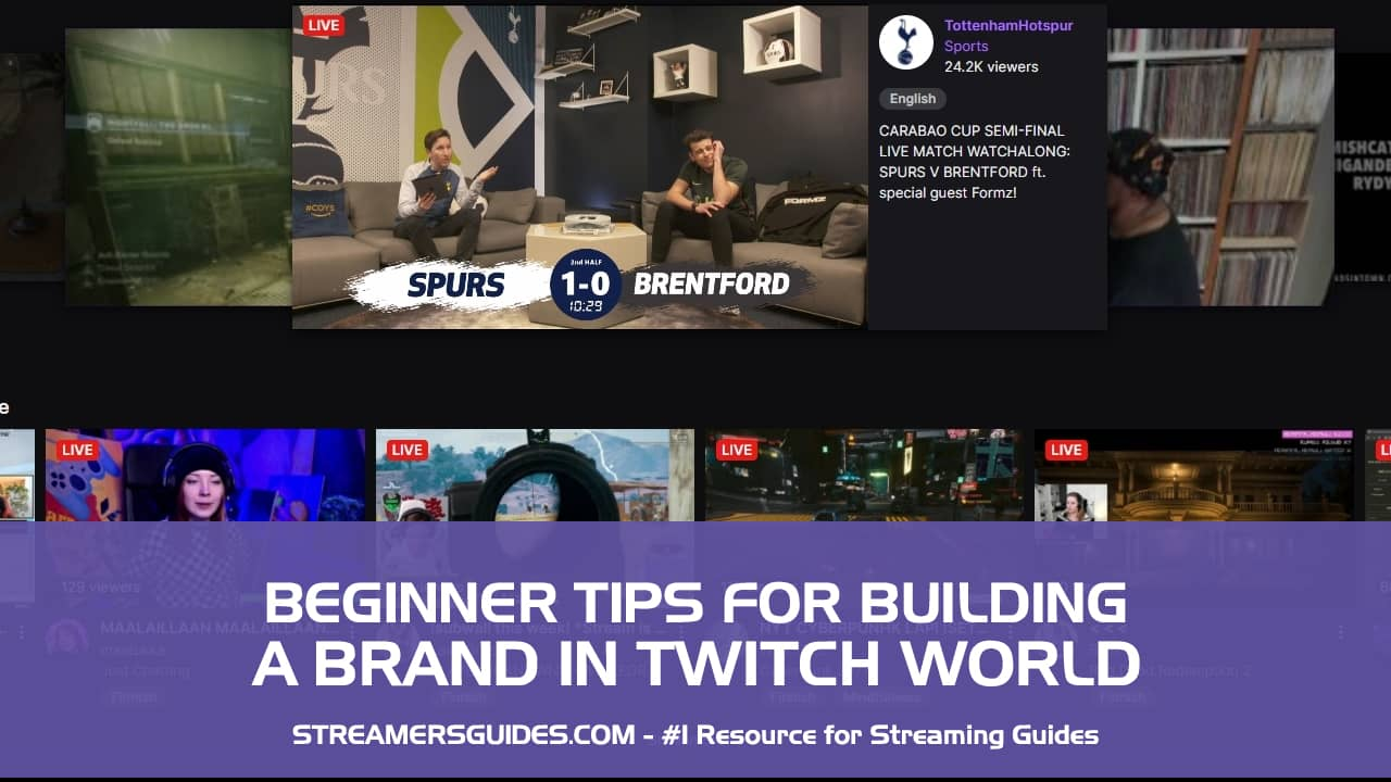 11 Beginner Tips For Building A Brand On Twitch
